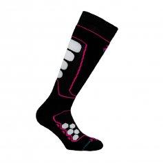 Funkčné ponožky Raptor, -15/+5°C, fuchsiová, XTECH