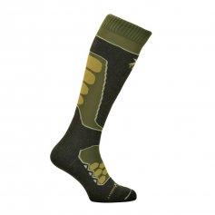 Funkčné ponožky Raptor, -15/+5°C, zelené, XTECH