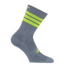 Funkčné ponožky XT134, +10/+40°C, sivo/žlté, XTECH