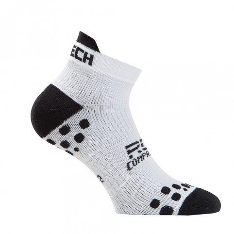 Funkčné kompresné ponožky XT154, +5/+40°C, biele, XTECH