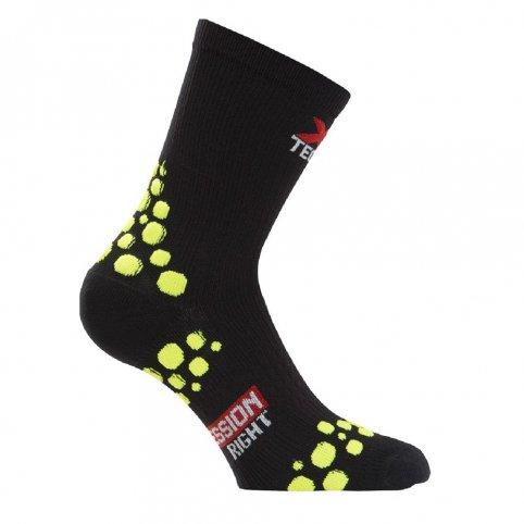 Funkčné kompresné ponožky XT152, +5/+40°C, čierne, XTECH