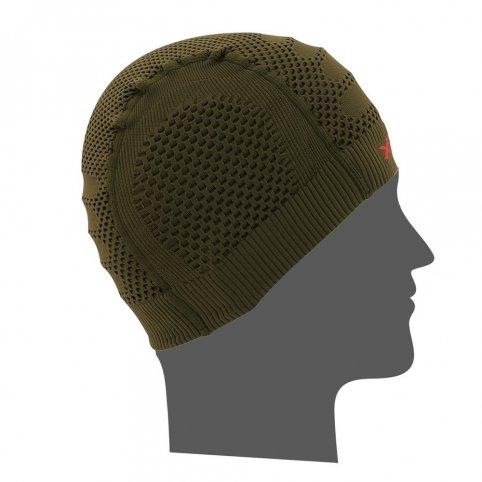 Funkčná čiapka CUFFIA XT99, zelená, XTECH