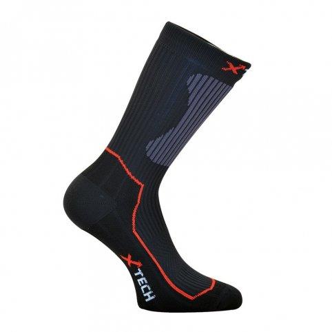 Funkčné ponožky CALZA XT55, čierne, XTECH