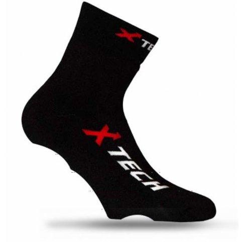 Funkčné ponožky CALZA COPRISCARPA XT67,čierne, XTECH