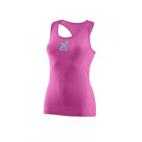 Funkčné dámske tielko +15/+40°C, CANOTTA XT301,ružové, XTECH