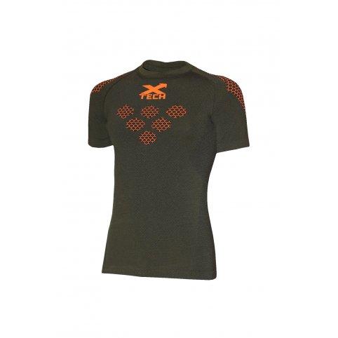 Funkčné tričko MAGLIA EXAGON, -5/+25°C, zelené, krátky rukáv, XTECH